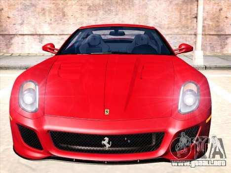 Ferrari 599 GTO para GTA San Andreas left