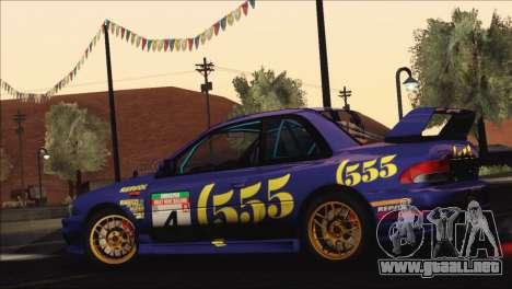 Subaru Impreza 22B STi 1998 para las ruedas de GTA San Andreas