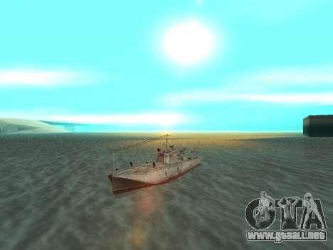 Bote Torpedo tipo G-5 para la visión correcta GTA San Andreas