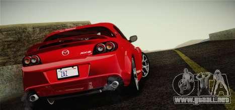 Mazda RX-8 Spirit R 2012 para GTA San Andreas left