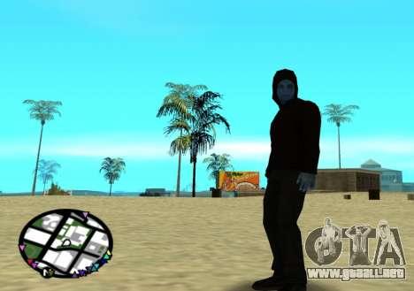 El poder de la nueva spider-man 2 para GTA San Andreas tercera pantalla