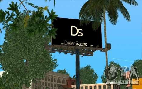 HQ Billiboards para GTA San Andreas
