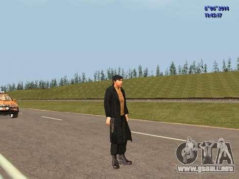 Danila de la película Hermano para GTA San Andreas tercera pantalla