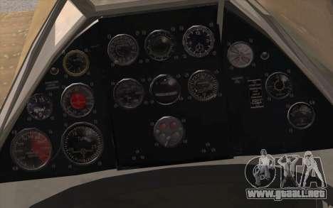 IAR 80 - Romania No 91 para la visión correcta GTA San Andreas