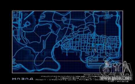 Mapa estilo de need For Speed World para GTA San Andreas tercera pantalla
