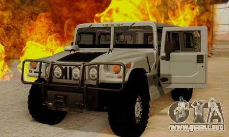 Hummer H1 Alpha para GTA San Andreas left