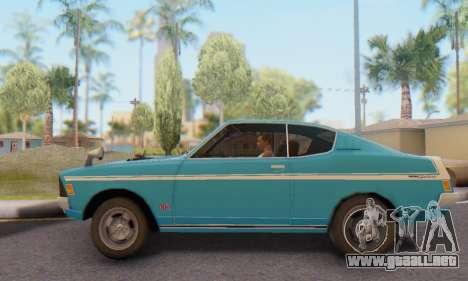 Mitsubishi Galant GTO-MR para GTA San Andreas left