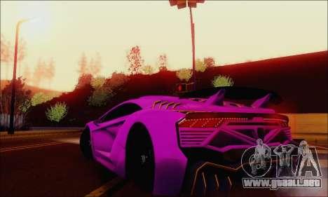 Zentorno GTA 5 V.1 para el motor de GTA San Andreas