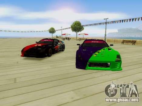 Toyota Supra Evil Empire para visión interna GTA San Andreas