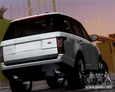 Range Rover Vogue 2014 para la visión correcta GTA San Andreas
