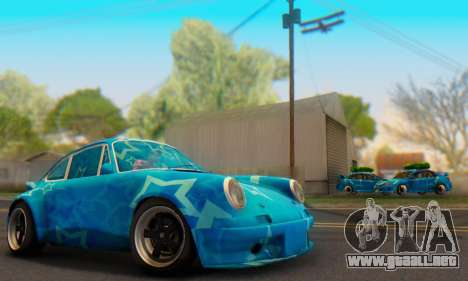 Porsche 911 Blue Star para GTA San Andreas