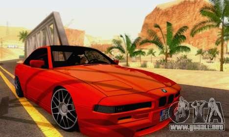 BMW 850CSI 1996 para visión interna GTA San Andreas