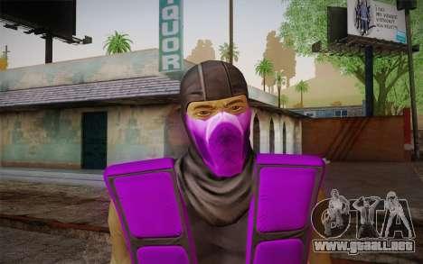 Lluvia из Ultimate MK3 para GTA San Andreas tercera pantalla
