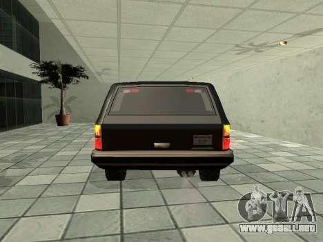 SWAT Original Cruiser para la visión correcta GTA San Andreas