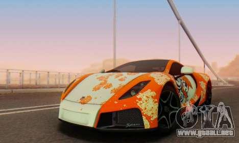 GTA Spano 2014 IVF para el motor de GTA San Andreas