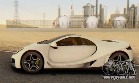 GTA Spano 2014 IVF para visión interna GTA San Andreas