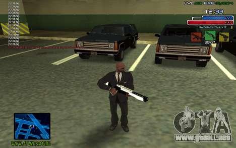 C-HUD SampHack para GTA San Andreas segunda pantalla