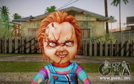 Chucky para GTA San Andreas tercera pantalla
