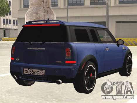 Mini Cooper Clubman JCW para la visión correcta GTA San Andreas