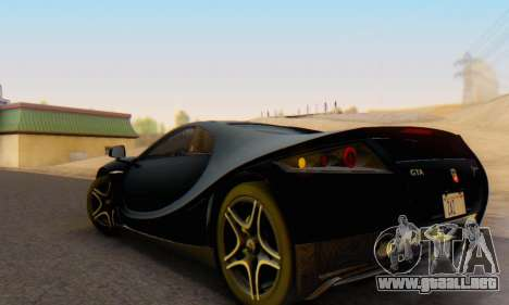 GTA Spano 2014 IVF para GTA San Andreas left