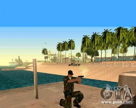 Glock из Cutscene para GTA San Andreas tercera pantalla