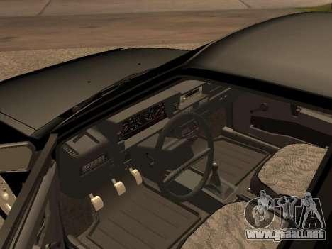VAZ 2109 Bandit V 1.0 para GTA San Andreas vista hacia atrás