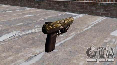 Pistola FN Five seveN LAM Hexagonal para GTA 4 segundos de pantalla