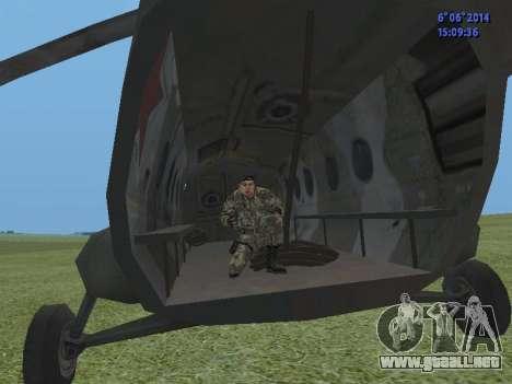 USSR Special Forces para GTA San Andreas quinta pantalla