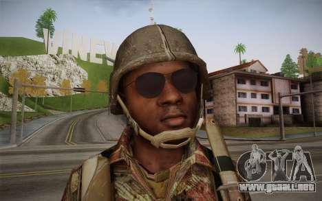 U.S. Soldier v1 para GTA San Andreas tercera pantalla