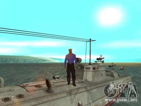 Bote Torpedo tipo G-5 para las ruedas de GTA San Andreas