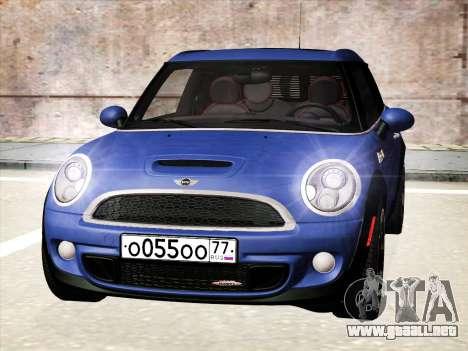 Mini Cooper Clubman JCW para GTA San Andreas left