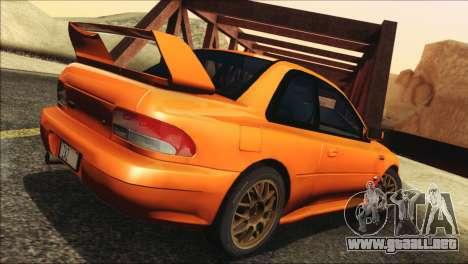 Subaru Impreza 22B STi 1998 para GTA San Andreas left