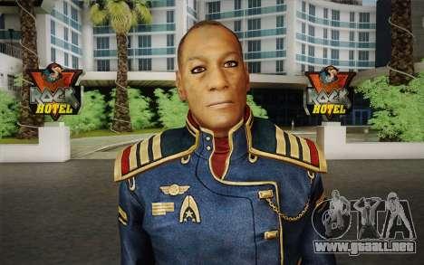 El capitán David Anderson из Efecto de Masa de l para GTA San Andreas tercera pantalla
