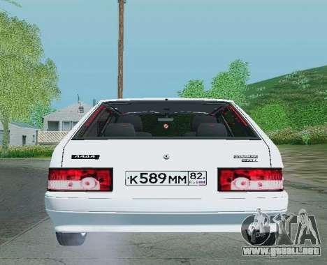 VAZ-21093 para la visión correcta GTA San Andreas