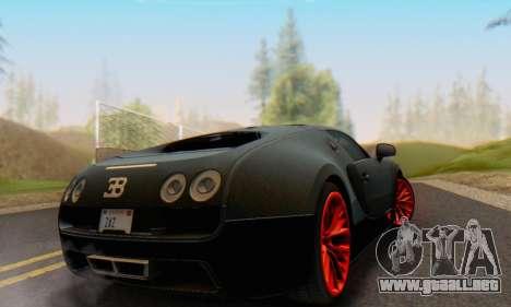 Bugatti Veyron Super Sport 2011 para la visión correcta GTA San Andreas