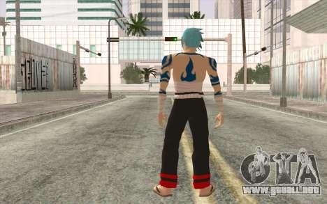 Kamina Sama para GTA San Andreas segunda pantalla