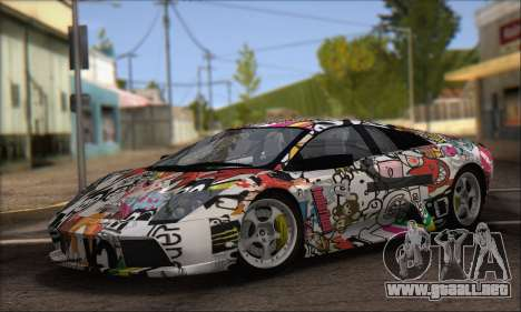 Lamborghini Murcielago 2005 Mismas Ediciones de  para GTA San Andreas