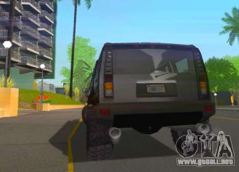 Hummer H2 Limousine para la visión correcta GTA San Andreas
