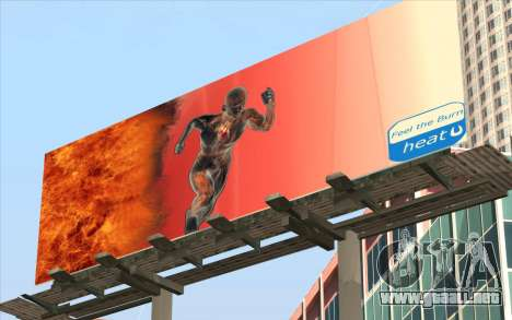 HQ Billiboards para GTA San Andreas segunda pantalla