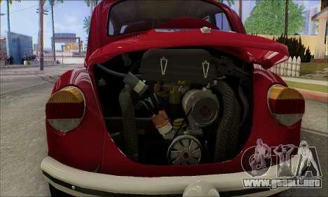 1973 Volkswagen Beetle para GTA San Andreas interior