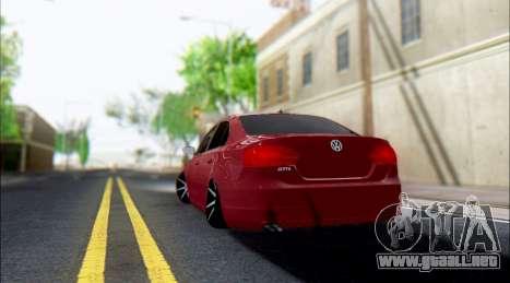 Volkswagen Jetta 1.4 Comfortline МТ para la visión correcta GTA San Andreas