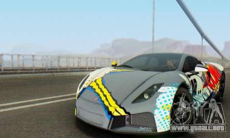 GTA Spano 2014 IVF para la vista superior GTA San Andreas