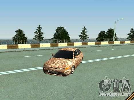 De los FLOREROS 2110 camuflaje para GTA San Andreas