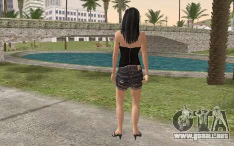 Casual Girl para GTA San Andreas segunda pantalla