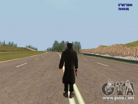 Danila de la película Hermano para GTA San Andreas sucesivamente de pantalla
