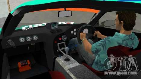 Mazda RX7 FD3S RE Amamiya Falken para GTA Vice City vista lateral izquierdo