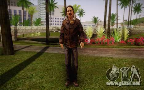 William Carver из The Walking Dead para GTA San Andreas