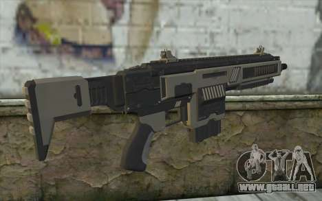 NS-11A Assault Rifle from Planetside 2 para GTA San Andreas segunda pantalla