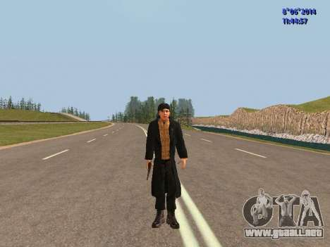 Danila de la película Hermano para GTA San Andreas segunda pantalla