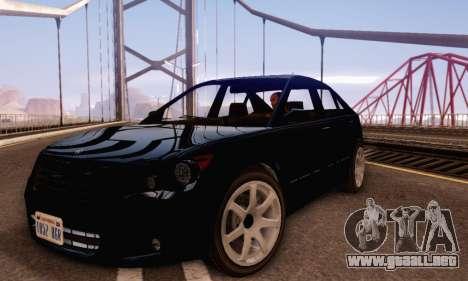 Karin Asterope V1.0 para GTA San Andreas left